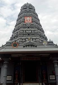 The Gopura of the shrine is constructed in a beautiful manner and has great visibility