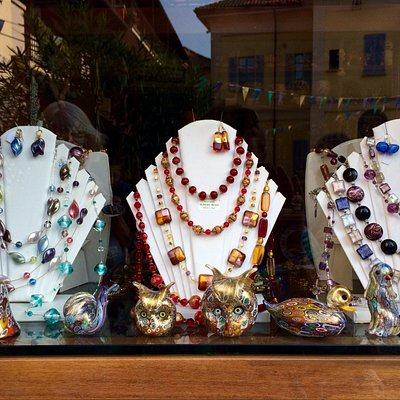Ferri Cristina - beautiful jewellery made from Murano glass