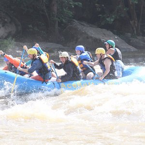 Rafting on the lower Gauley