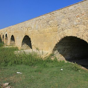 Ponte Romano, lato a monte