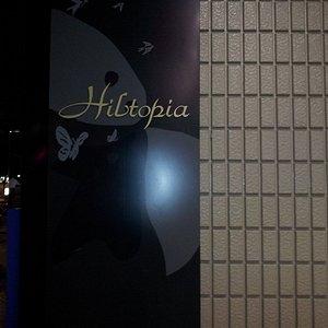 ヒルトピアの看板