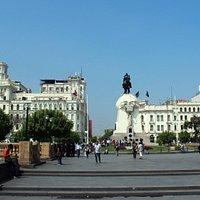 Lima: Plaza Bolivar