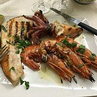 Seafood misto