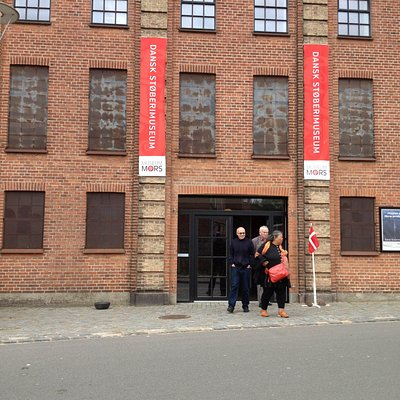 Facade of the foundry museum.