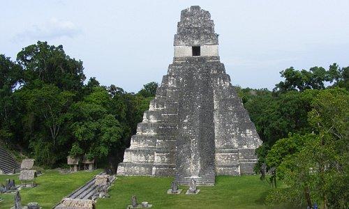 Templo I, gran Jaguar.