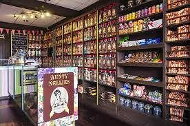 Large selection of old fashioned sweets to pick from