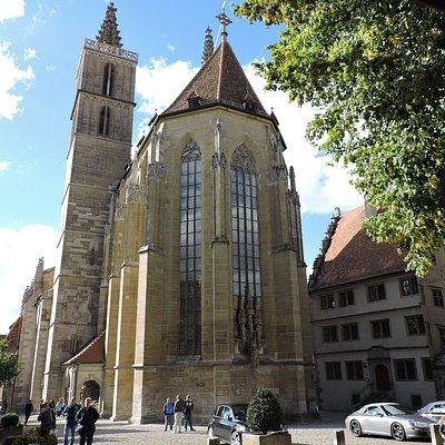 St. Jakobskirche, Rothenburg ob der Tauber, Alemania.