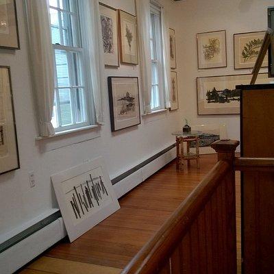 Part of Ilse's upstairs studio