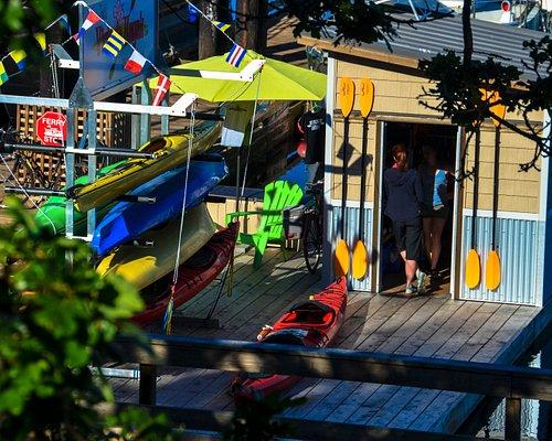 "1006 Wharf Street Location - AKA Red Fish Blue Fish dock or ""The Fishbowl"""