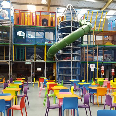 The UK's largest indoor play frame - The World of Play