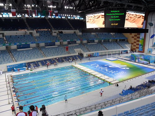 View from spectators area