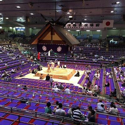National Sumo Tournament in Aichi Gymnasium