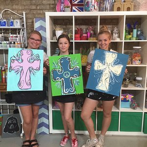 Paint parties at The Painted Pineapple | Creative Studio, Madison, GA