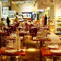 Einige Impressionen bei unserem Besuch im Restaurant Eataly West 23rd St. Ecke 5th Avenue in New