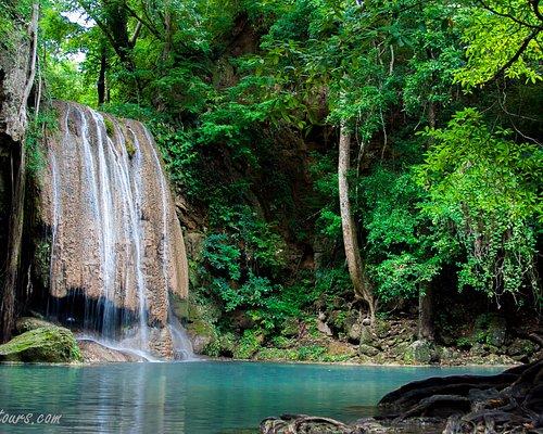 Erawan waterfall 3rd level