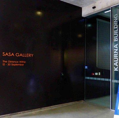 SASA Gallery Entrance on Fenn Place