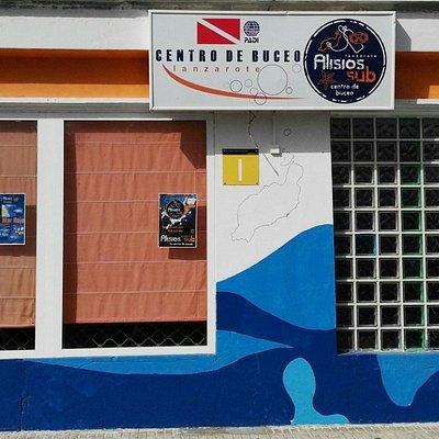 Nuestro Centro de buceo, Alisios Sub Lanzarote