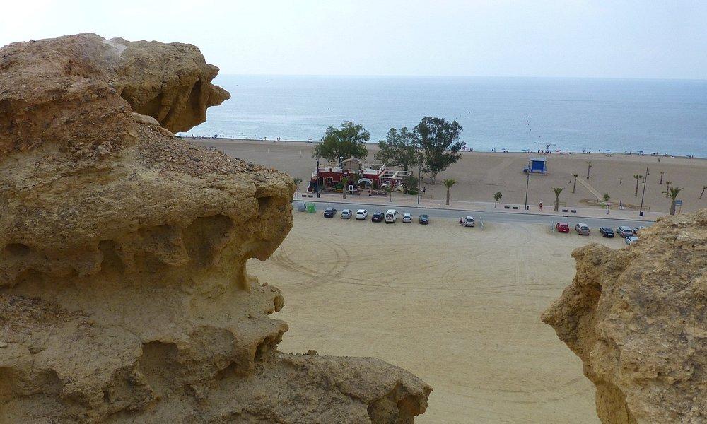 Playa de Bolnuevo desde las Gredas