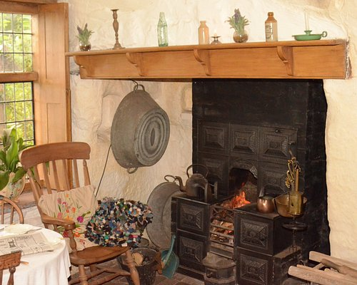 get cosy by the fire inside the Rock Houses