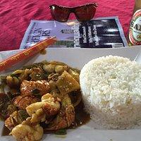 Lobster Caribbean Chinese (Bahama) Dish - Nassau