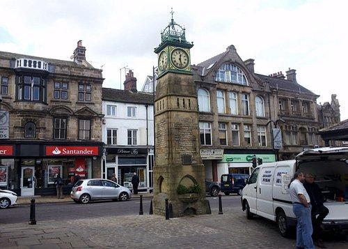 Jubilee Clock in Market Place