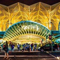 Thain Station Oriente - Estacao Oriente - a jewel site!