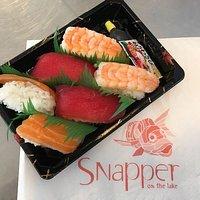 Sushi at Snapper