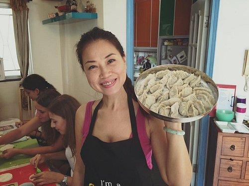 Dumpling Cooking Demo