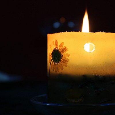 """Тематический вечер """"Свеча горела на столе...."""""""