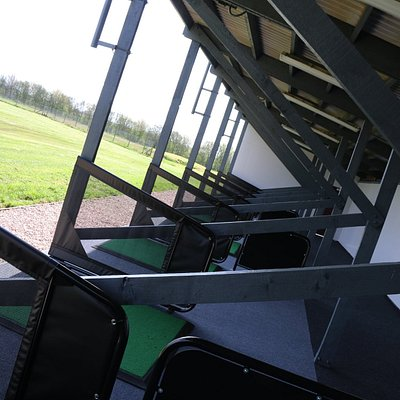 18 Covered and Flood Lit Driving Range