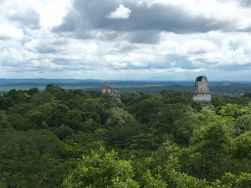 The view from Temple 4