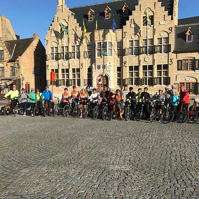 Duvelo bikes in Diksmuide Grote Markt