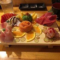 Chefs choice sashimi. True artists in food