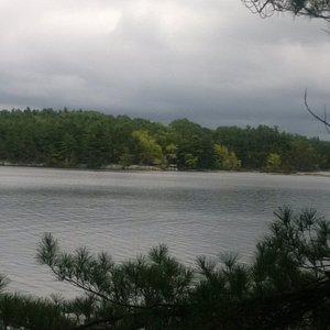 A larger than life lake