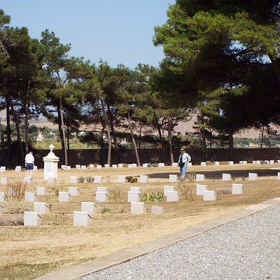 A Beautiful Resting Place.  Portianos Military Cemetery.