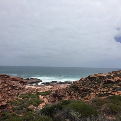 Really nice walk - lovely beach at the bottom. Good place to spot some whales in migrating seaso