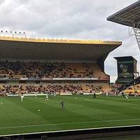 View from away fans seating