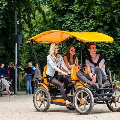 4 person quad bike - the all time favourite!