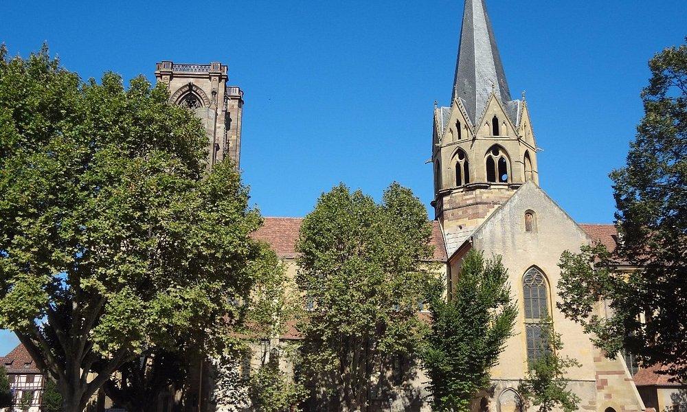 Eglise ND Rouffach (vue extérieure)