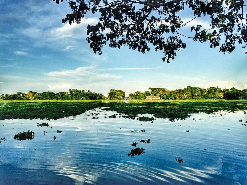 Hakaluki Haor, Moulvibazar. Bangladesh's largest and one of Asia's larger marsh wetland.