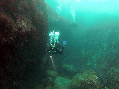 la inmensidad del fondo marino