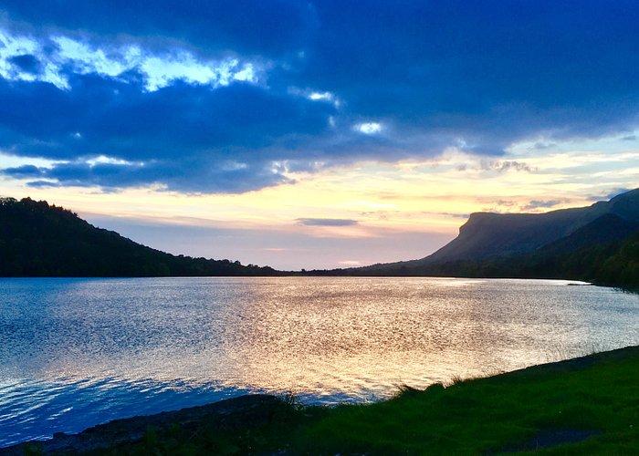Twilight Across The Lake