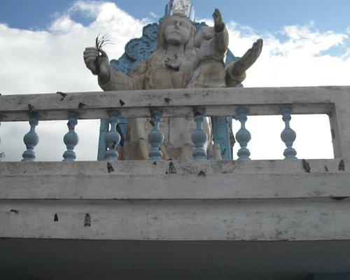 Imagen de la Virgen en la culminación del Sendero.
