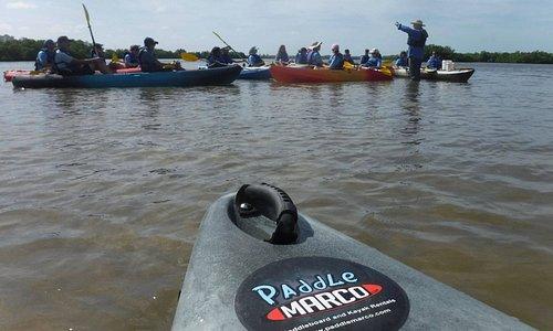 Fun to kayak at paddlecraft park