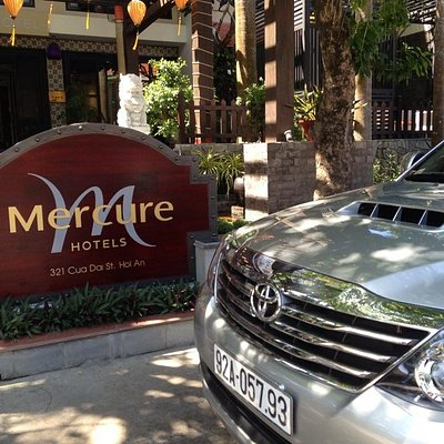 Mercure  hotel in Hoi An. Enjoy Marble Moutain and Linh Ung pagoda