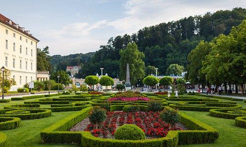 Central park in Rogaska Slatina