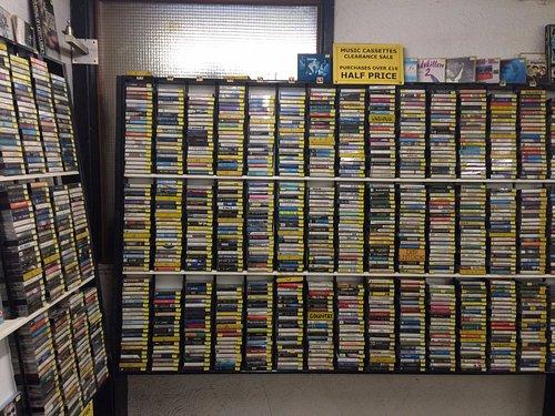 The cassette rack!