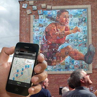 Murale des jeux du Canada / Circuit des murales de Sherbrooke
