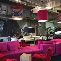 Interior seating Lounge cafe style