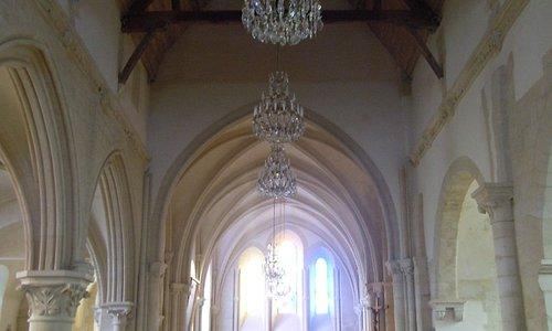 Vue vers l'autel